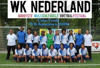 WK Nederland gewonnen door de Kaapverdische dames!